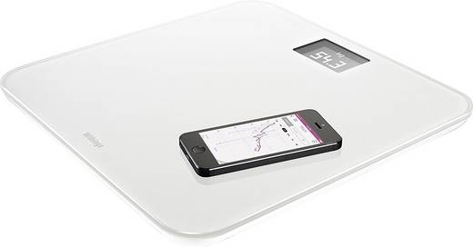 Withings WS-30 Digitale Personenwaage Wägebereich (max.)=180 kg Weiß