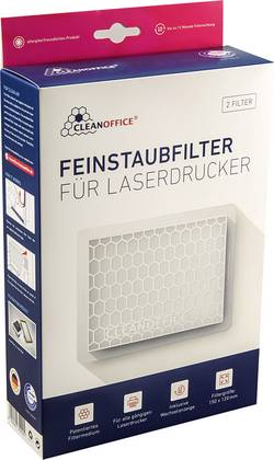 Image of Laserdrucker Filter Feinstaub Clean Office 16/800.20.50 Selbstklebend 2 St.