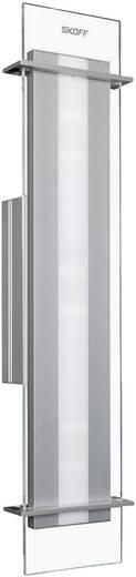 LED-Wandleuchte 15 W Warm-Weiß SKOFF Moderno Elegante MO-KIN-A-H-3-PL-PL-01 Aluminium, Transparent