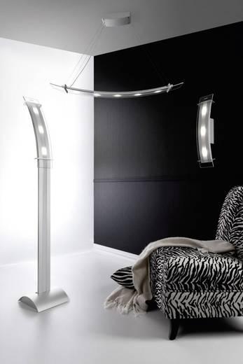 LED-Pendelleuchte 50 W Kalt-Weiß SKOFF Moderno Elisse ME-LWI-C-W-3-PL-PL-01 Aluminium, Transparent