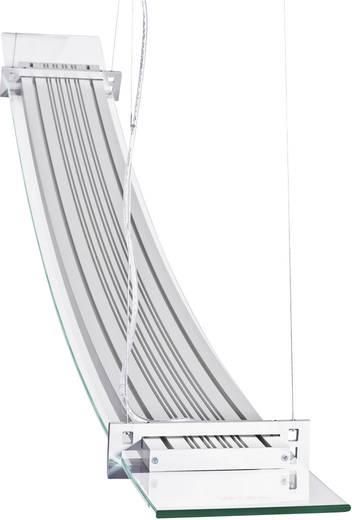 LED-Pendelleuchte 50 W Warm-Weiß SKOFF Moderno Elisse ME-LWI-C-H-3-PL-PL-01 Aluminium, Transparent