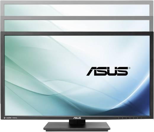 Asus PB287Q LED-Monitor 71.1 cm (28 Zoll) EEK C (A+ - F) 3840 x 2160 Pixel UHD 2160p (4K) 1 ms HDMI™, DisplayPort TN LED