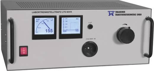 Labor-Trenntrafo einstellbar Thalheimer LTS 610-K 2500 VA Anzahl Ausgänge: 1 x 2 - 250 V/AC Kalibriert nach Werksstandar