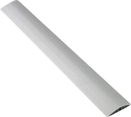 Kabelbrücke TPE (Geruchneutrales Spezialgummigemisch) Hell-Grau Anzahl Kanäle: 3 3 m Serpa Inhalt: 1 St.