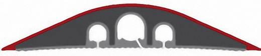 Kabelbrücke TPE (Geruchneutrales Spezialgummigemisch) Hell-Grau Anzahl Kanäle: 3 3000 mm Serpa Inhalt: 1 St.