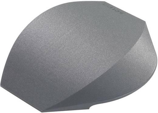 Endstück TPE (Geruchneutrales Spezialgummigemisch) Dunkel-Grau Serpa Inhalt: 2 St.