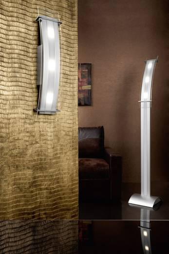 LED-Stehlampe 15 W Neutral-Weiß SKOFF Moderno Elisse ME-LST-A-W-3-PL-PL-01 Aluminium, Transparent