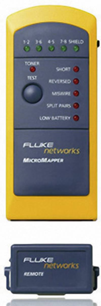 Fluke Networks MT-8200-49A MicroMapper, Cable test device, Cable tester