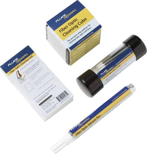 Fluke Networks NFC-KIT-BOX Glasfaser-Reinigungsausstattung: Würfel, Stift, Tupfer (2,5), 5 Karten, Kabel-Prüfgerät, Kabe