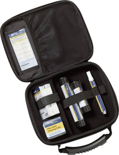Fluke Networks NFC-KIT-CASE Glasfaser-Reinigungssatz: tragetasche, Würfel, Stift, 1,25 und 2,5, Tupfer, 10 Karten, Kabel