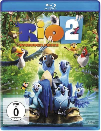 blu-ray Rio 2 - Dschungelfieber FSK: 0