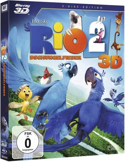blu-ray 3D Rio 2 - Dschungelfieber (+2D Blu-ray) FSK: 0