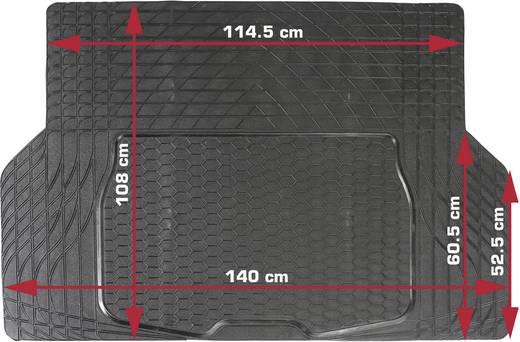 Kofferraummatte universal (L x B) 108 cm x 140 cm Schwarz DINO 130026