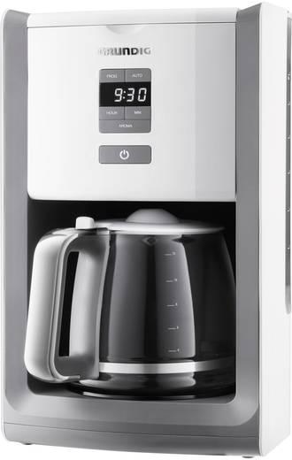 Kaffeemaschine Grundig KM 7280w Weiß, Hellgrau Fassungsvermögen Tassen=12 Display, Timerfunktion, Warmhaltefunktion