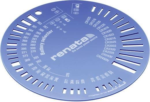 Knopfzellenschablone Renata Selektor ZW9801