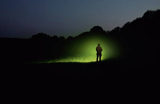 Taschenlampe Ledlenser P7QC 9407-Q Schwarz
