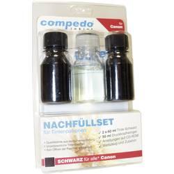 Image of compedo MREFILL08 Tintenpatronen-Nachfüllset Passend für Geräte des Herstellers: Canon Schwarz Tintenmenge gesamt: 120