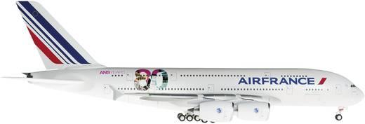 """Luftfahrzeug 1:200 Herpa Air France Airbus A380 """"80th Anniversary"""" 556248"""