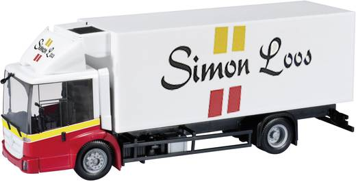 "Herpa 303309 H0 Mercedes Benz Econic Kühlkoffer-LKW ""Simon Loos"" (NL)"""