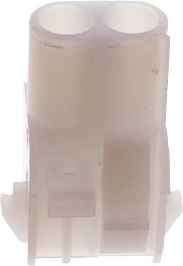 Buchsengehäuse-Kabel Universal-MATE-N-LOK Polzahl Gesamt 3 TE Connectivity 1-480701-0 Rastermaß: 6.35 mm 1 St.