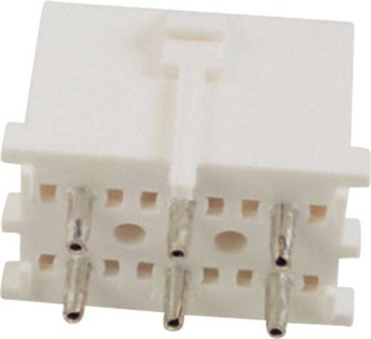 Stiftgehäuse-Platine Universal-MATE-N-LOK Polzahl Gesamt 6 TE Connectivity 350431-1 1 St.