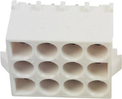 Buchsengehäuse-Platine Universal-MATE-N-LOK Polzahl Gesamt 12 TE Connectivity 350829-1 1 St.