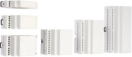 Hutschienen-Gehäuse 17.5 x 90 x 55.8 ABS Licht-Grau (RAL 7035) MR1 / CB FA 7035 ABS 1 St.