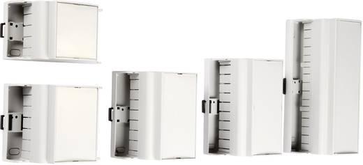 Hutschienen-Gehäuse 70 x 90 x 62 ABS Licht-Grau (RAL 7035) MR4/K CR RAL7035 ABS 1 St.