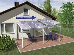 solar carport schindler alusystemtechnik sep3051 stand kaufen. Black Bedroom Furniture Sets. Home Design Ideas
