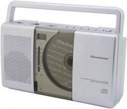 FM CD rádio SoundMaster RCD1150, CD, SV, FM, stříbrná