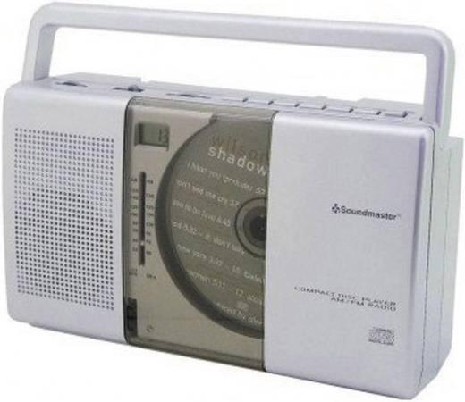 UKW CD-Radio SoundMaster RCD1150 CD, MW, UKW Silber