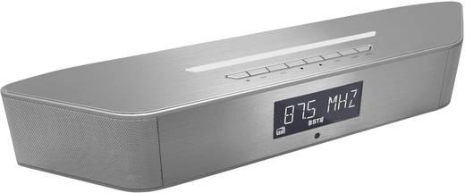 UKW Tischradio SoundMaster BT1308 Bluetooth®, UKW Wandmontage Silber