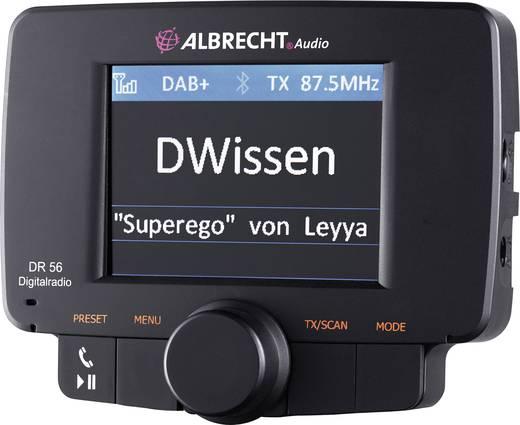 DAB+ Empfänger Albrecht DR-56 Freisprechfunktion, Saugnapfhalterung