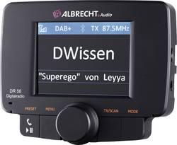 DAB+ rádio adaptér do auta s hands free Albrecht DR-56