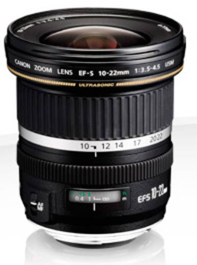 Weitwinkel-Objektiv Canon EF-S 10-22mm 1:3,5-4,5 USM f/3.5 - 4.5 10 - 22 mm
