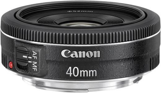 Pancake-Objektiv Canon EF 40mm 1:2,8 STM f/2.8 40 mm