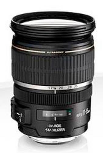 Weitwinkel-Objektiv Canon 17-55mm 1:2,8 IS USM f/2.8 17 - 55 mm