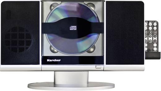 Karcher MUSIC CENTER MC 6512 Stereoanlage AUX, CD, SD, USB, Schwarz, Silber