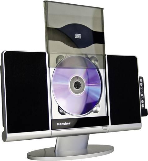 Karcher MC 6512 Stereoanlage AUX, CD, SD, USB, Schwarz, Silber