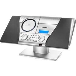 Stereo systém Karcher MC 6550(N), AUX, CD, kazeta, UKW, strieborná