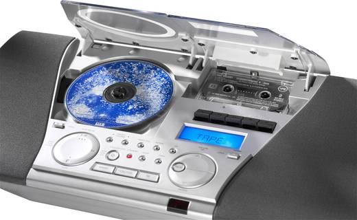 Karcher MC 6550(N) Stereoanlage AUX, CD, Kassette, UKW, Wandmontage Silber