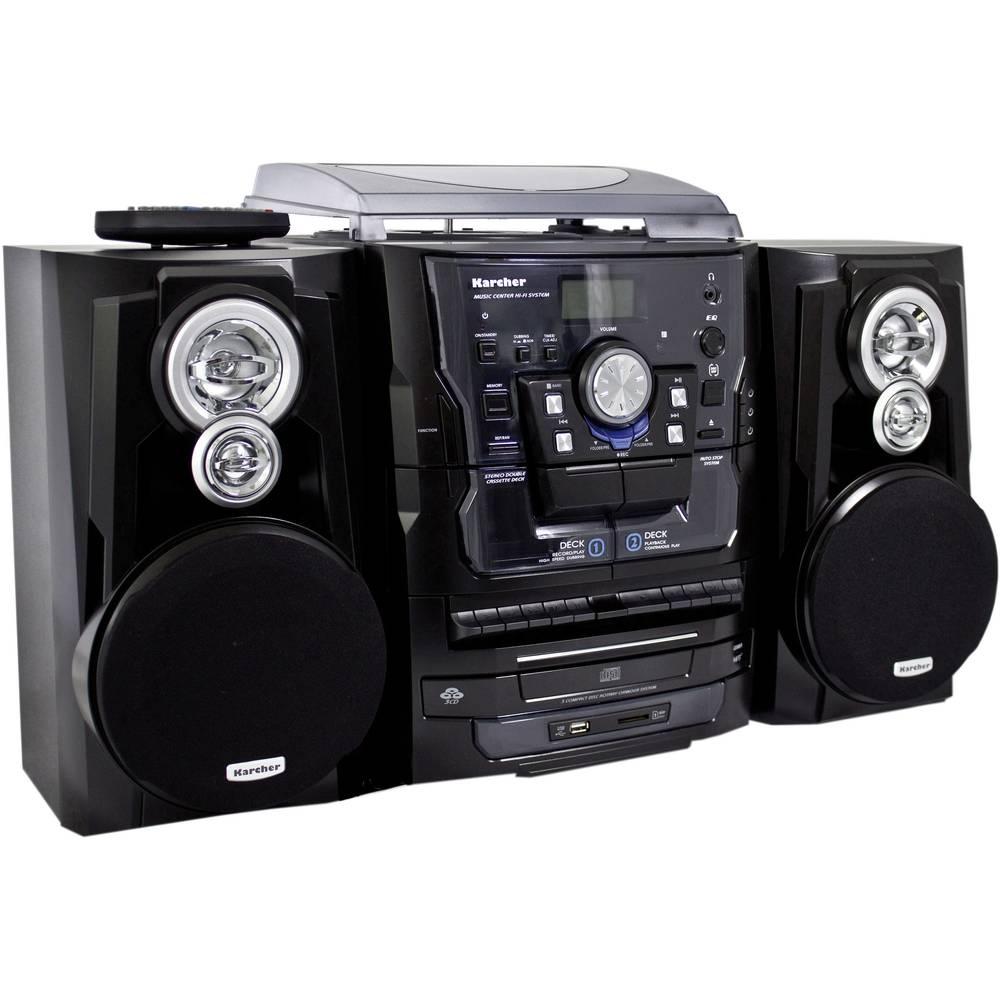 karcher stereoanlage ka 350 stereo hi fi system from. Black Bedroom Furniture Sets. Home Design Ideas