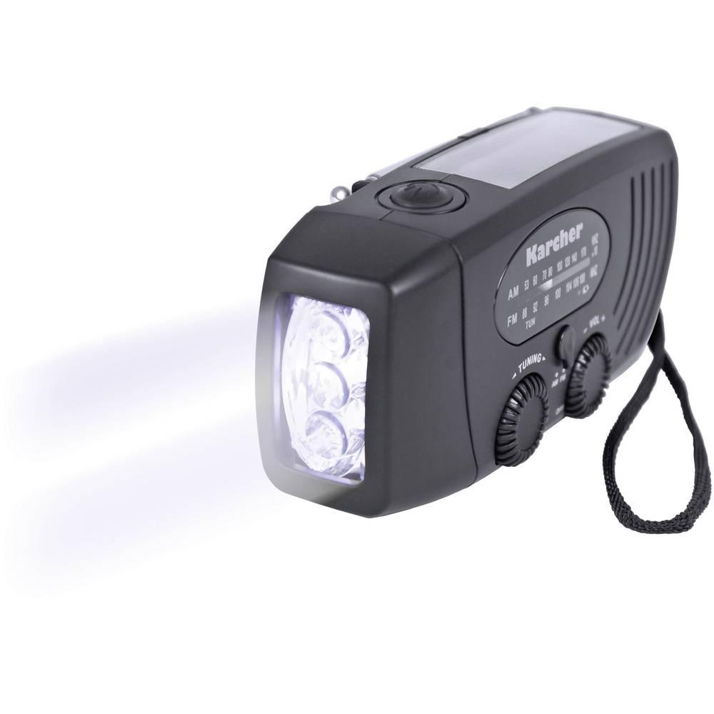 Radio pour ext rieur fm dynamo solaire karcher kr 110 for Karcher exterieur
