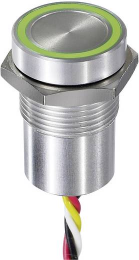 Sensortaster 24 V 0.2 A APEM CPB1110000KGSS IP68, IP69K tastend 1 St.
