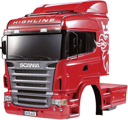 Tamiya 300056514 1:14 Karosserie Scania R620 6x4 Highline 1 St.