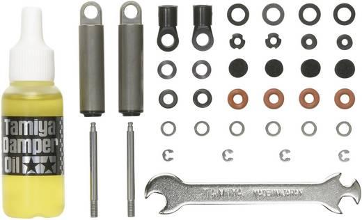 Tamiya 300056515 1:14 LKW Alu-Öldruckstoßdämpfer schwarz 2 St.