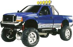 Monstertruck électrique Tamiya Ford F-350 High Lift brushed 4 roues motrices kit à monter 1:10