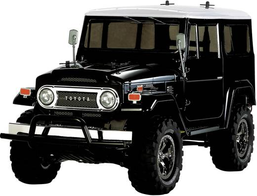 Tamiya Land Cruiser 40 Black Brushed 1:10 RC Modellauto Elektro Monstertruck Allradantrieb Bausatz