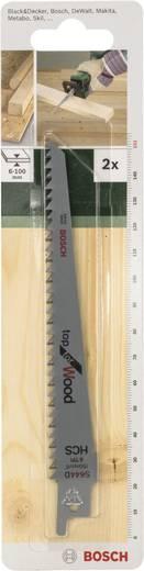 Säbelsägeblatt HCS, S 644 D Bosch Accessories 2609256701 Sägeblatt-Länge 152 mm