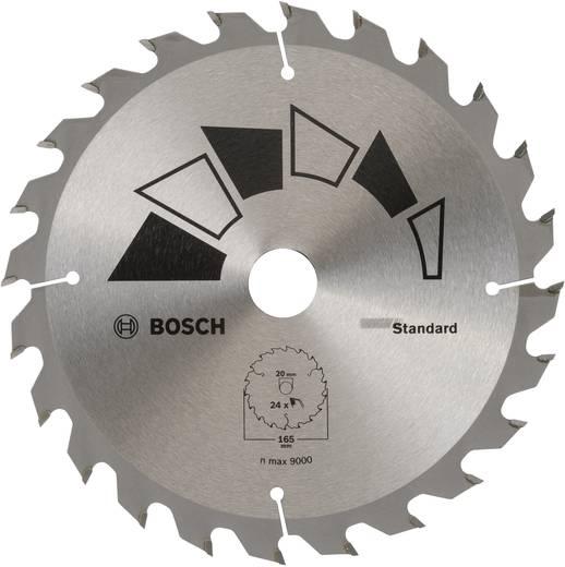 Kreissägeblatt 165 x 20 mm Zähneanzahl: 24 Bosch Accessories Standard 2609256B55 1 St.